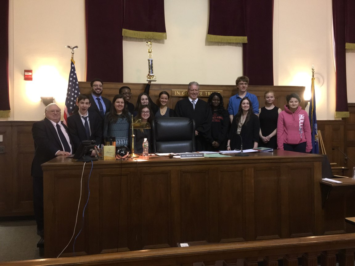 2018 Rockland High School Mock Trial Final Round – 4.19.18