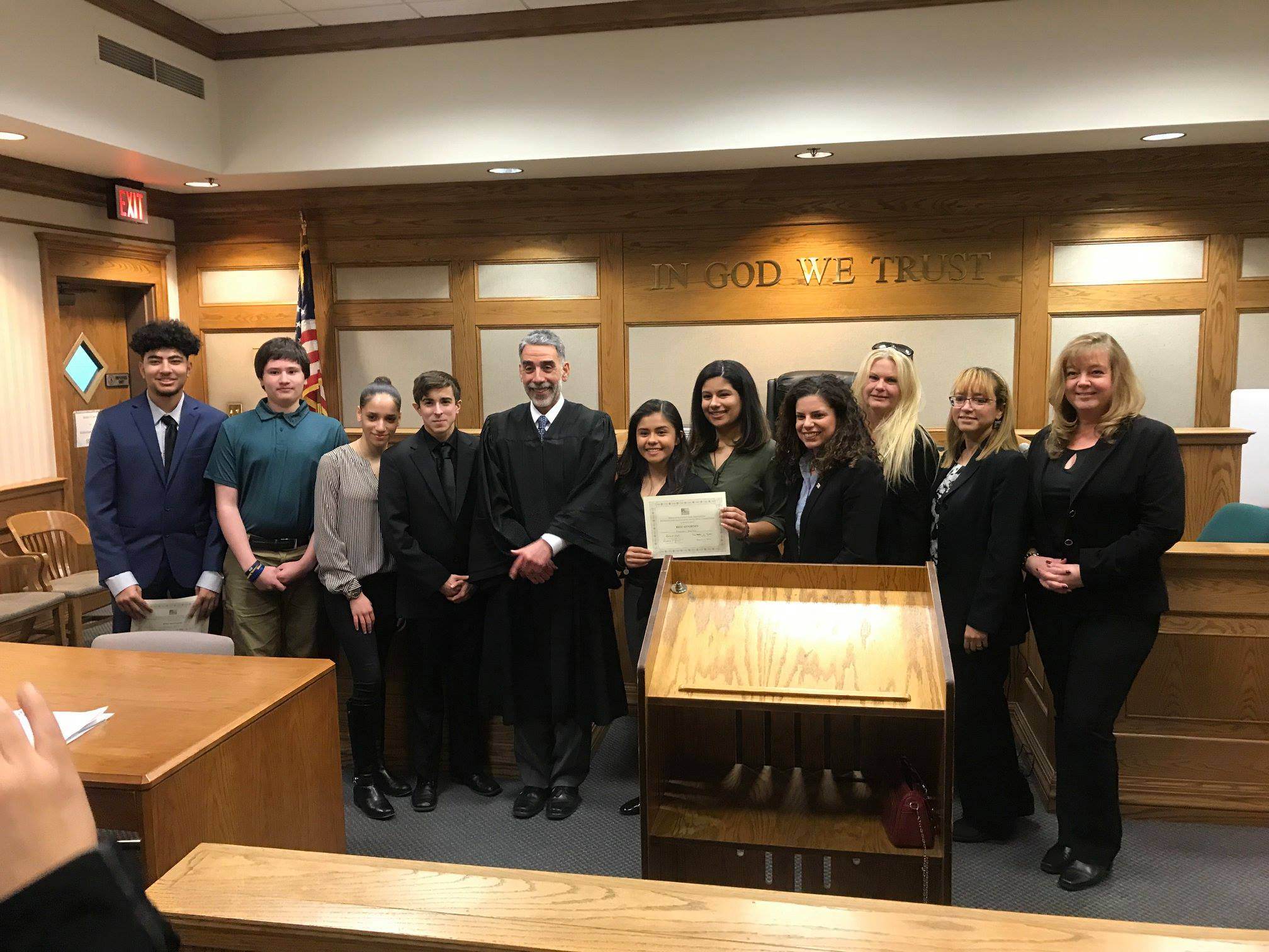 High School Mock Trial 2019